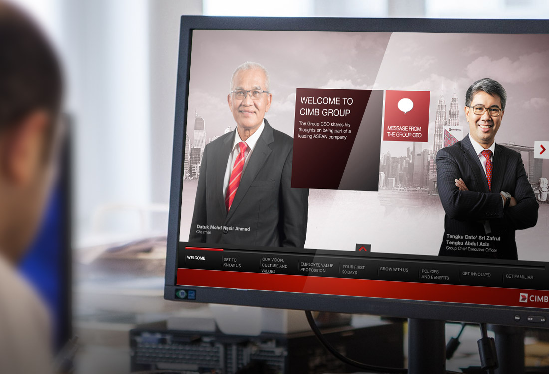 CIMB engage better with staff through innovative website